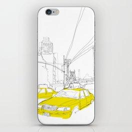 Cross Town Traffic iPhone Skin