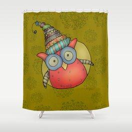 Kooky Puki Shower Curtain