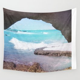Sea Cave Wall Tapestry