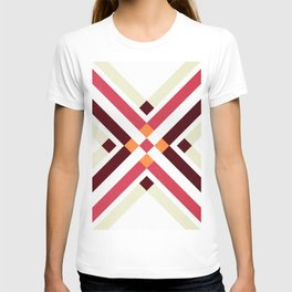 ABSTRACT RUG PATTERN T-shirt