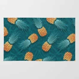 Pineapples swimmers I Rug