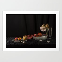 Still life of decay Art Print