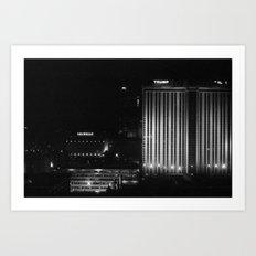 Black & White Night Art Print