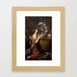 Lamia by John Waterhouse Framed Art Print