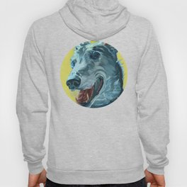 Dilly the Greyhound Portrait Hoody