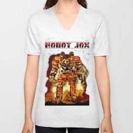 Robot Jox Unisex V-Neck