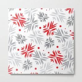 Stylize Leafy Texture 4 Metal Print