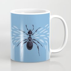 Weird Abstract Flying Ant Mug