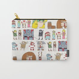 Nintendo Characters Carry-All Pouch