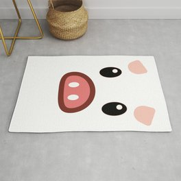 pig chinese new year year funny gift Rug