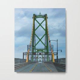 MacDonald Bridge Metal Print