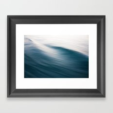 Water flowing Framed Art Print