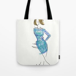 Rough Sketch Tote Bag