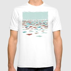 Sea Recollection Mens Fitted Tee White MEDIUM