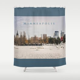 Minneapolis Shower Curtain