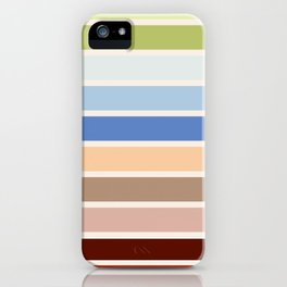 The colors of - Porco Rosso iPhone Case