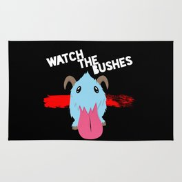 Watch the Bushes Rug