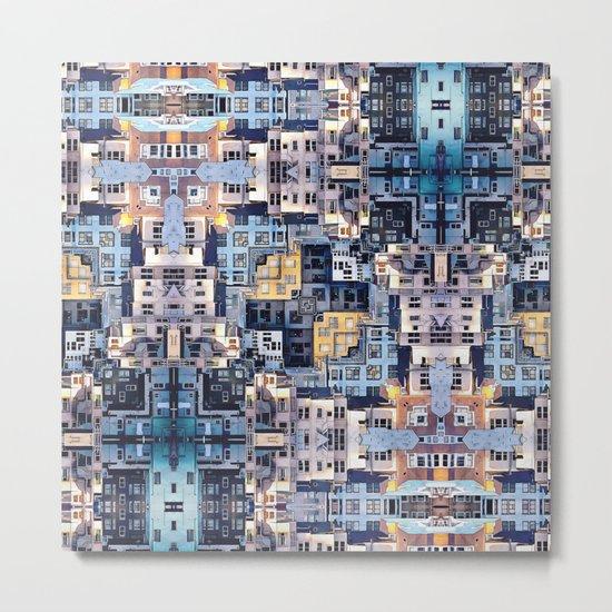 Community of Cubicles Metal Print