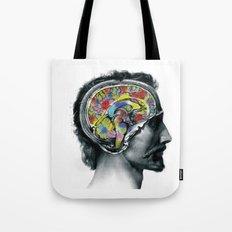 Brain colors fashion Jacob's Paris Tote Bag