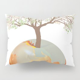 Earth - Apple tree Pillow Sham
