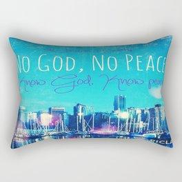 Know God Rectangular Pillow