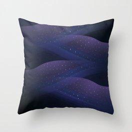 Ultraviolet Cosmos Throw Pillow