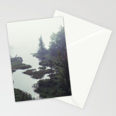 Moonlit Fogscape Stationery Cards