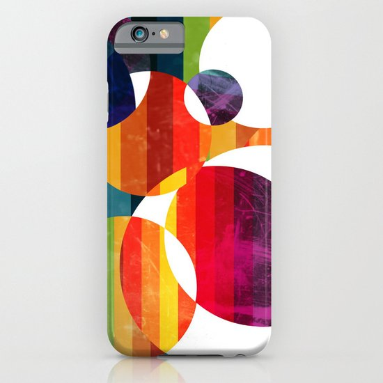 Abstract rainbow  iPhone & iPod Case