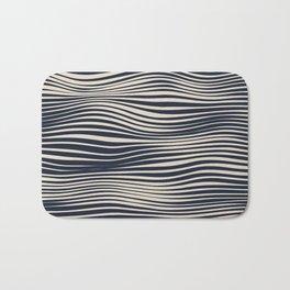 Waving Lines Bath Mat