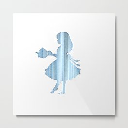 Alice in Wonderland Metal Print