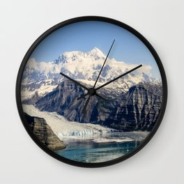 Mountain Lake Landscape Wall Clock