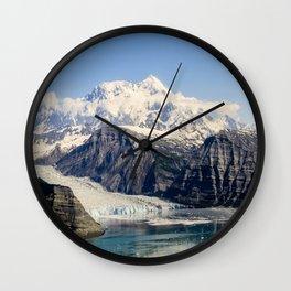 Mountain Lake Landscape Wall Clock