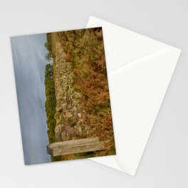 Autumn wall Stationery Cards