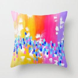 Australian Summer Throw Pillow
