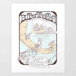 Blitzen Trapper Poster Art Print