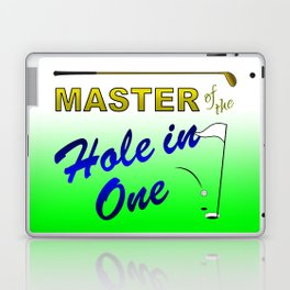 Master of The Hole In One Laptop & iPad Skin