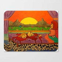 """""""As the Sun Rises"""" Canvas Print"""
