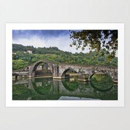 Devil's bridge - Italy Art Print