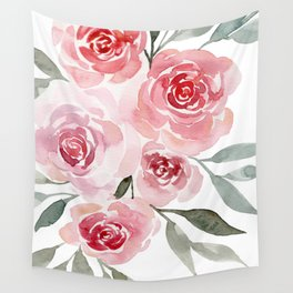 Bunch of Roses Wall Tapestry