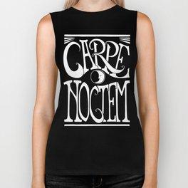 Carpe Noctem - black Biker Tank