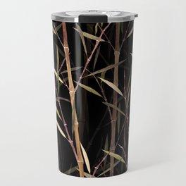 Dry Bamboo Forest at Night Travel Mug