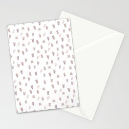 Little man pattern Stationery Cards