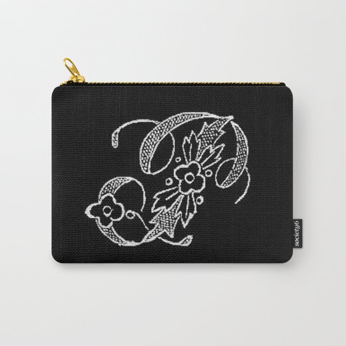 P Monogram Carry-All Pouch
