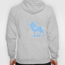 RAM TEE LIGHT BLUE Hoody