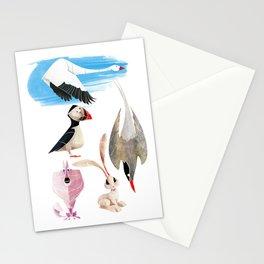 Arctic animals 2 Stationery Cards