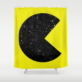 Expanding Universe Shower Curtain