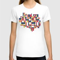 matisse T-shirts featuring Map Matisse #1 by Project M