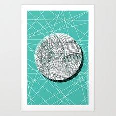 Eclipsed. Art Print