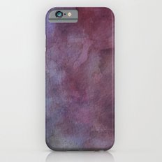 Purple Watercolor Nebula Galaxy Sky Slim Case iPhone 6