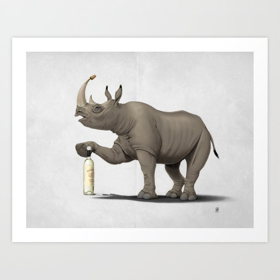 Cork it, Dürer! [HD] (Wordless) Art Print